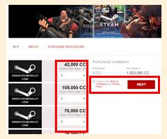 Steam Wallet Codes - Cherry Credits